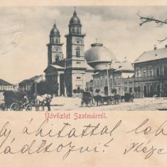 SATU MARE , SALUTARI DIN SATU MARE , CLASICA , CIRCULATA MAI 1900