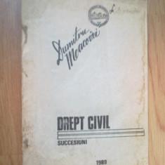 D5 Drept Civil. Succesiuni - Dumitru Macovei - Carte Jurisprudenta