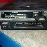 CASETOFON AUTO CORINA ,STEREO , FABRICAT DE ELECTRO MURES ,ANII 80 .RARITATE !