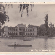 bnk cp Cluj - Vedere din Parcul orasului - necirculata 1939