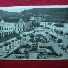 Ilustrata Deva - Piata Unirii, circulat 1955 - Carte Postala Transilvania dupa 1918, Circulata, Fotografie