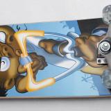 Skateboard inSPORTline Spartan Tramp - Axe Aluminiu - Roti Silikon - rulmenti ABEC 5 - Nou, Marime: 31