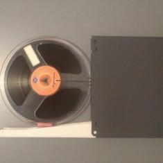 Banda Magnetofon AGFA + cutie PROFI - diametru rola 180 - made in RFG/Perfecta