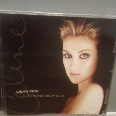 CELINE DION - LET'S TALK ABOUT LOVE(1997/SONY/AUSTRIA) - CD/ORIGINAL/NOU/SIGILAT - Muzica Pop sony music