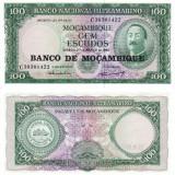 MOZAMBIC 100 escudos 1961 UNC!!!