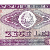 2. Bancnota 10 lei 1966 perfect UNC - Bancnota romaneasca