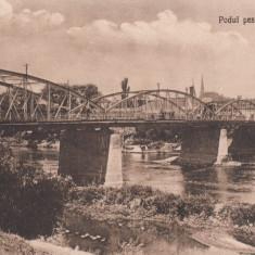 SATU MARE, PODUL PESTE SOMES - Carte Postala Maramures dupa 1918, Necirculata, Printata