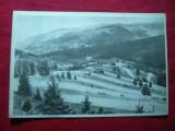 Ilustrata - Serpentine la Iacobeni , circulat 1953, Circulata, Fotografie