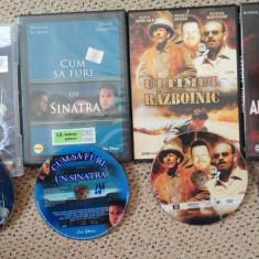 Filme actiune pe4 DVDE:Intre focuri, Absenta luminii, Ultimul razboinic, Sinatra - Film actiune Altele, Romana