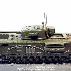 Macheta tanc Mk. IV Churchill - 1944 scara 1:43 - Macheta auto