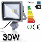 Proiector LED 30w echivalent 300w Senzor miscare Senzor lumina Exterior - Corp de iluminat, Proiectoare