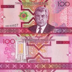 TURKMENISTAN 100 manat 2005 UNC!!!