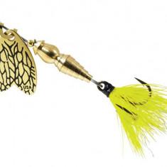 Lingurita Rotativa Mepps Thunder Bug Fly Yellow 7 g Pentru Clean - Naluca Pescuit