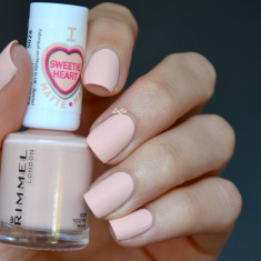 OJA CU EFECT MAT RIMMEL LONDON SWEETIE HEART MATTE 005 YOU`RE MINE, Piersica