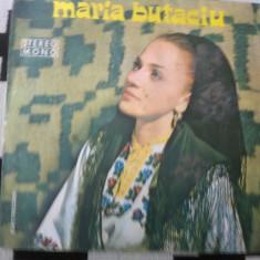 MARIA BUTACIU disc vinyl lp Muzica Populara electrecord stm epe 0831, VINIL
