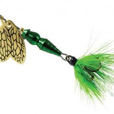 Lingurita Rotativa Mepps Thunder Bug Fly Green 4g Pentru Clean F.BUG1.V - Naluca Pescuit