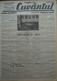 Cuvantul , ziar legionar , 24 Mai 1933 , articole Mihail Sebastian ,G. Racoveanu