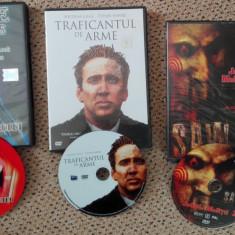 Filme actiune DVD:Traficantul de arme, Sabia Vampirului, Jocul mortii 2 - Film actiune Altele, Romana