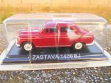 Macheta Zastava 1400 BJ (Fiat 1400) Masini de Legenda - Croatia scara 1:43
