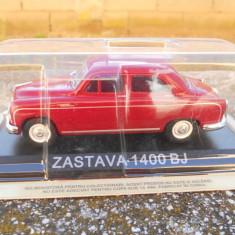 Macheta Zastava 1400 BJ (Fiat 1400) Masini de Legenda - Croatia scara 1:43 - Macheta auto