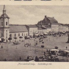 TARGUL MURES, PIATA SZECHENYI - Carte Postala Transilvania 1904-1918, Targu Mures, Necirculata, Printata