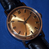 CEAS AUR masiv 14K - VOSTOK - Mecanic - Cal 2409A - 1980 - Foarte rar in aur ! - Ceas de mana