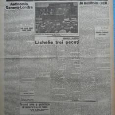 Cuvantul, ziar legionar, 17 Mai 1933, articole Ion Calugaru, Racoveanu