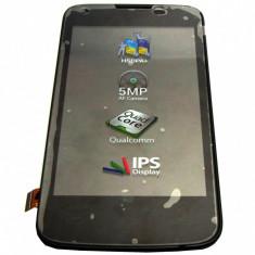 Ansamblu Lcd Display Touchscreen touch screen Allview A6 Quad cu Rama Swap Original - Display LCD