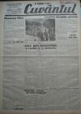 Cuvantul , ziar legionar , 20 Mai 1933 ,articole Mihail Sebastian , Perpessicius