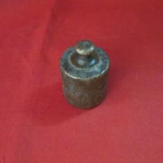 Greutate veche din bronz pentru cantar 200 g, greutate balanta, greutate cantar - Cantar/Balanta