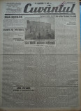 Cuvantul , ziar legionar , 26 Mai 1933 ,articole Mihail Sebastian , Perpessicius