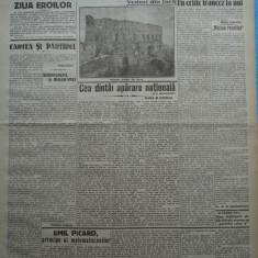 Cuvantul, ziar legionar, 26 Mai 1933, articole Mihail Sebastian, Perpessicius