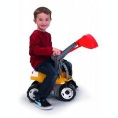 Jucarie baieti Excavator plastic cu cupa 80cm - Vehicul