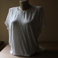 Bluza de designer, Club Monaco, fata din in, spatele din matase