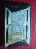 I.Peltz - Inimi Zbuciumate - Prima Ed. 1962 Ed. Tineretului ,Coperta Tia Peltz