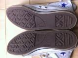 Converse All Star nr 41,5 culoare culoare alba unisex Tenisi bascheti sport, 41.5, Alb, Textil