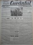 Cuvantul , ziar legionar , 18 Mai 1933 , articole Nae Ionescu , Perpessicius