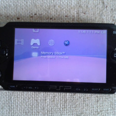 PSP Sony phat, 1004, ca nou, incarcator, 50 jocuri, 24 gb, modat