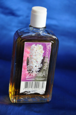 Sticla Parfum Romanesc Vechi Apa De Colonie Zambila De Colectie