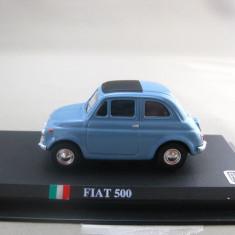 Macheta Fiat 500 scara 1:43 - Macheta auto