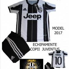 ECHIPAMENTE FOTBAL JUVENTUS 2017-POGBA, COPII 8/12 ANI, LIVRARE GRATUITA - Set echipament fotbal Adidas, Marime: XL, L