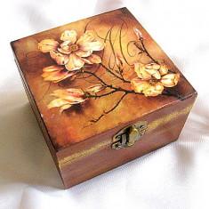 Cutie lemn decorata - 26374