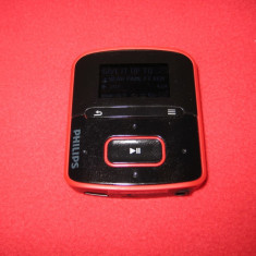 MP3 PHILIPS GoGear 4gb - MP3 player Philips, Rosu