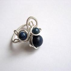Inel lapis lazuli 25903