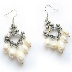 Cercei perle cultura 11073 - Cercei perla