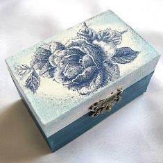 cutie lemn decorata 22307