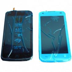 Ansamblu Lcd Display Touchscreen touch screen Allview C6 Quad 4G cu Rama Swap Original - Display LCD