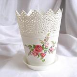 Ghiveci flori trandafiri 23706