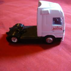 Camion Mercedes -Zentis-Jucarie metalica, L= 6, 8 cm - Masinuta
