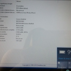 BATERIE LENOVO G50 Z40 Z50 Z70 G500S ORIGINALA AUTONOMIE PESTE 2 ORE 75% viata - Baterie laptop Lenovo, 4 celule, 2200 mAh